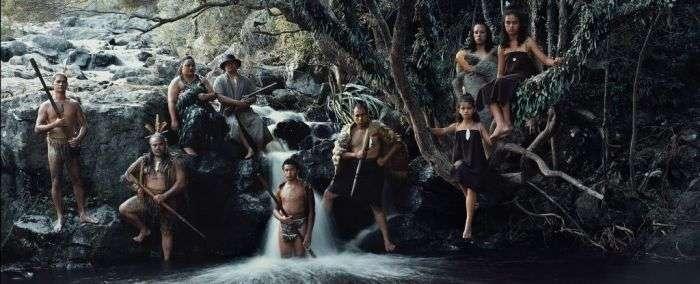 Дикие и полудикие племена в современном мире