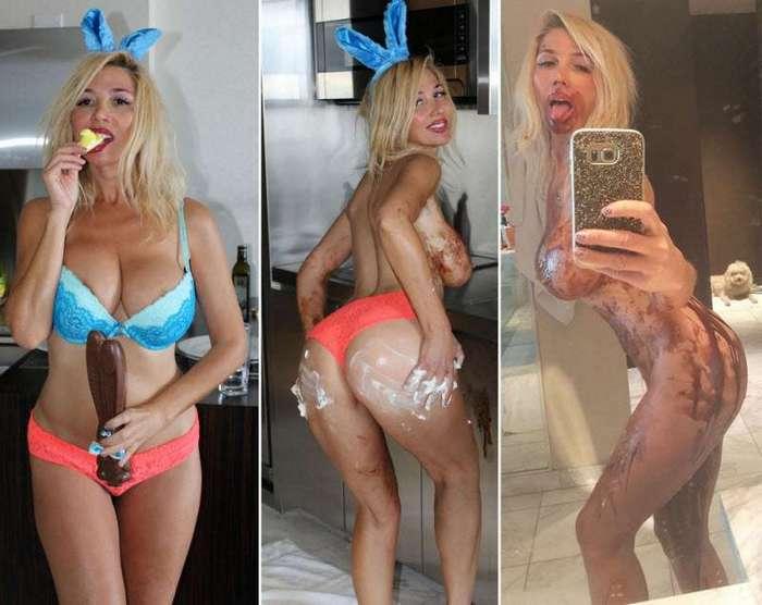 Русская Леди Гага устроила откровенную фотосессию (16 фото)