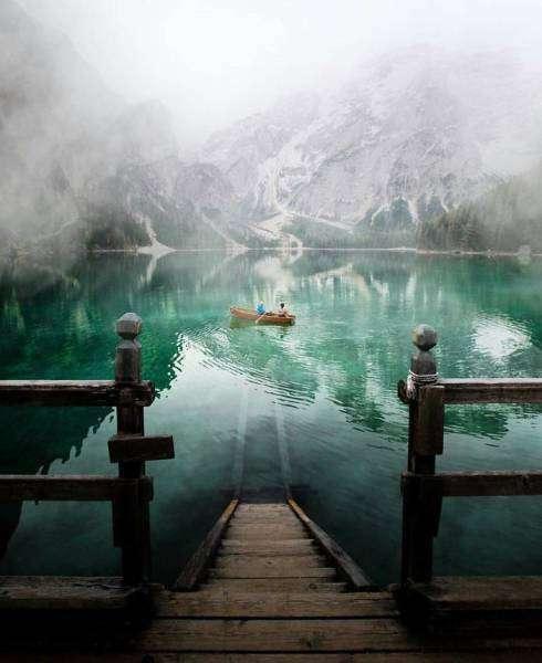 Фото любителей путешествий из соцсетей (50 фото)