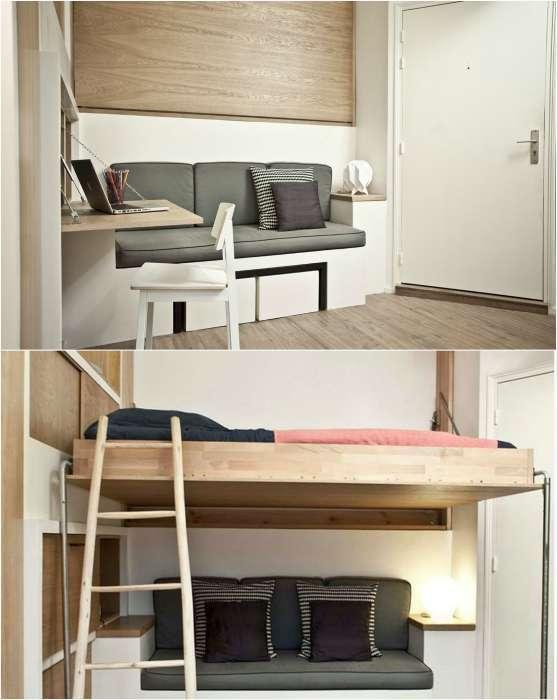 17 примеров практичной мебели, которая сделает жилье функциональным и сэкономит максимум пространства