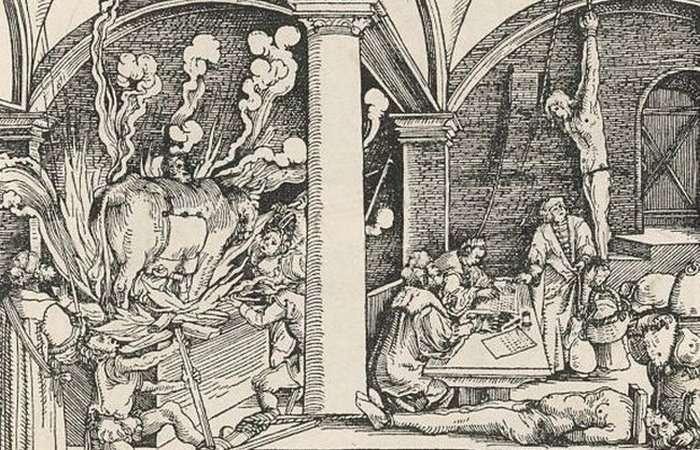 Медный бык - самое ужасное устройство для пыток, придуманное древними