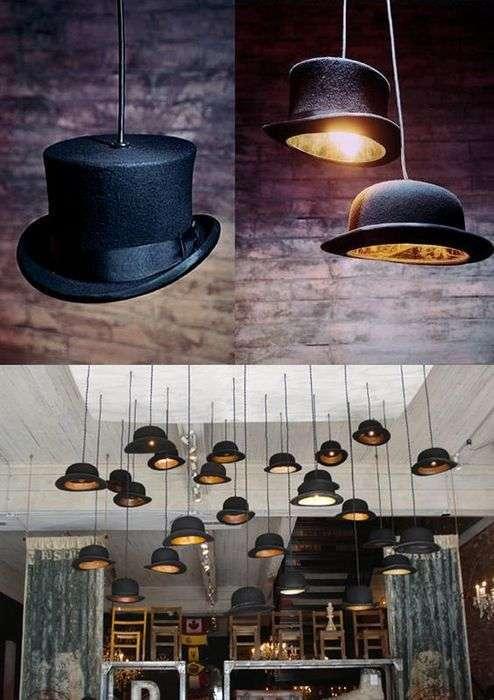 10 необычных светильников из вполне обыденных предметов
