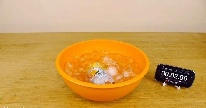 Когда гости на пороге: как охладить любой тёплый напиток за 2 минуты