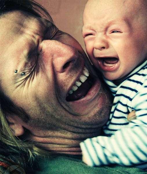 Дети, которые полностью пошли в своих отцов (37 фото)