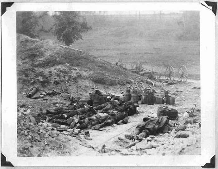 Запрещённые фотографии времен Первой мировой войны