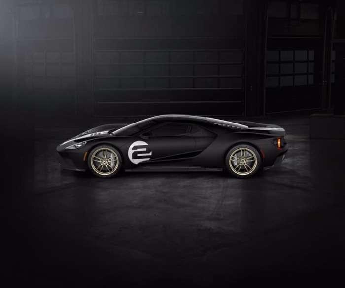 Ford выпустил купе GT '66 Heritage Edition в честь легендарной победы на Ле-Мане