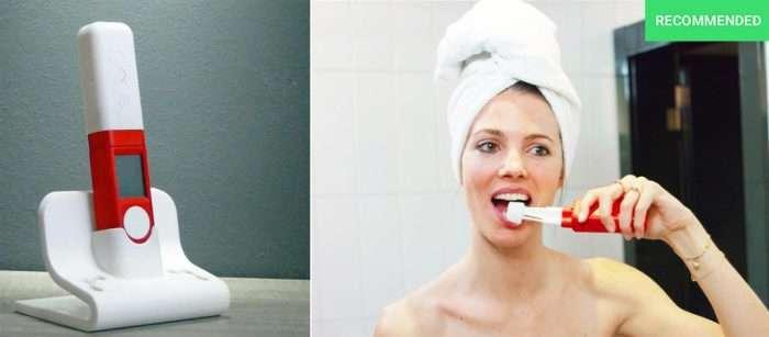 Новая щетка чистит зубы за пару секунд