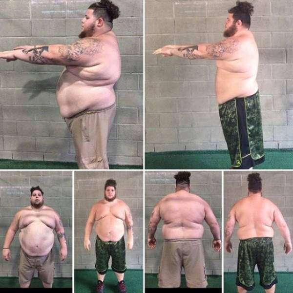 Примеры невероятной трансформации (39 фото)