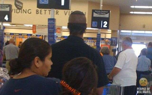 Люди в американском супермаркете (57 фото)