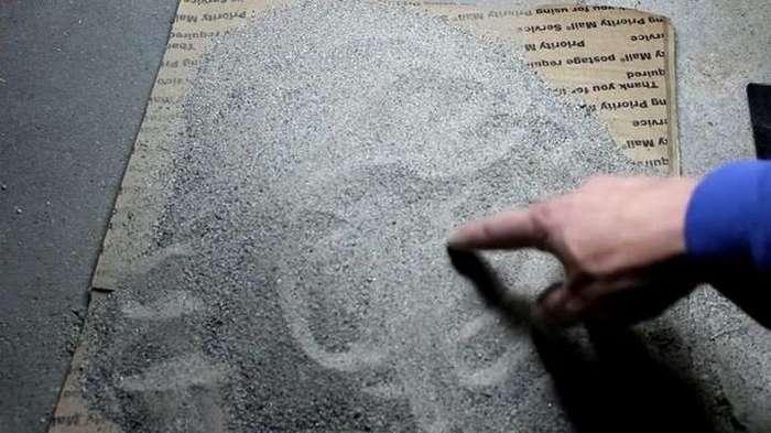 Добыча платины из придорожной пыли