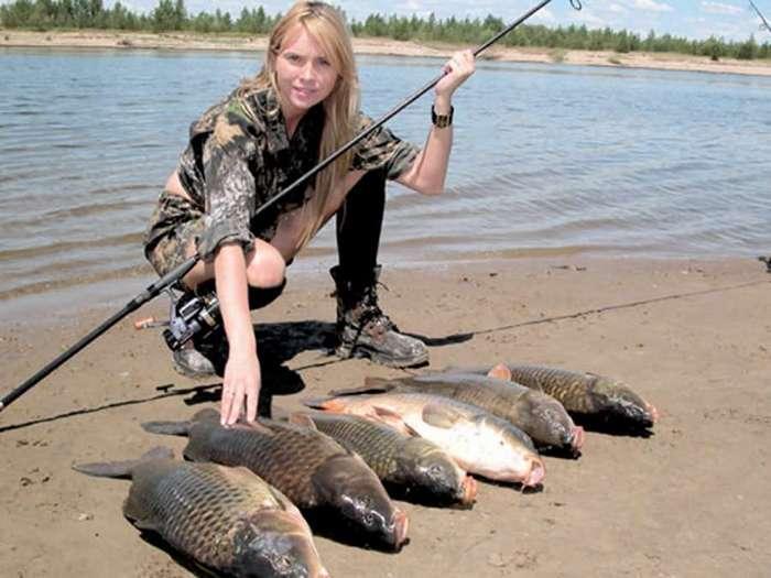 Рыбалка и охота женскими глазами