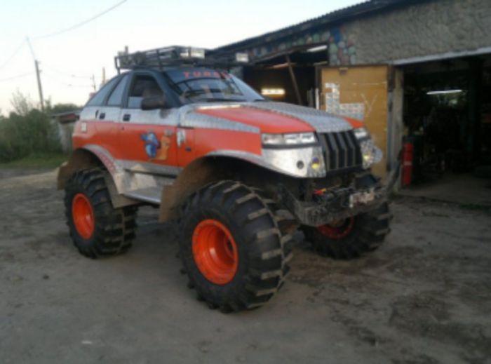 ВАЗ 2112 машина-монстр