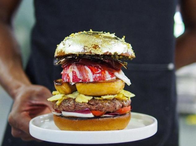 Самый дорогой в мире гамбургер стоит 2000 евро