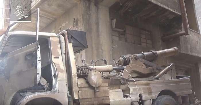 В Сирии палят из пушки XIX века