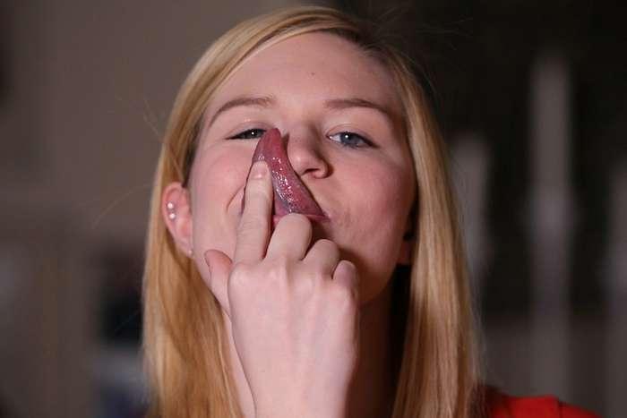 Как своей девушке сделать языком 129