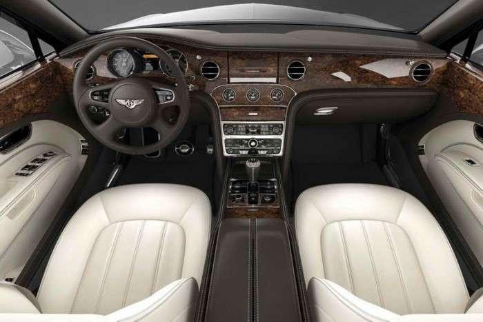 «Железная» красота. Bentley Mulsanne