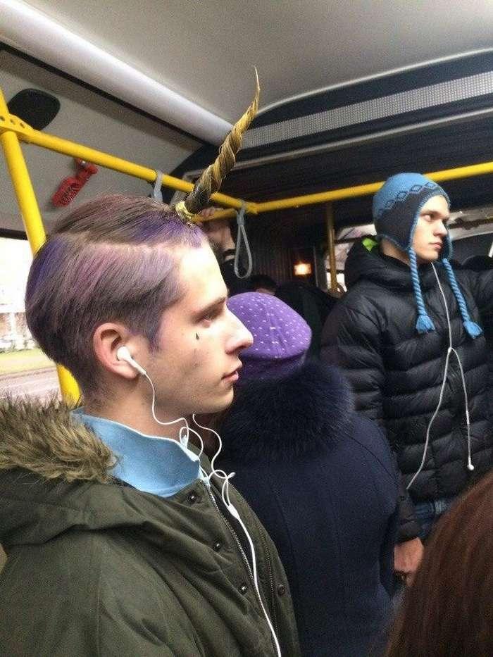 Необычные обитатели метро