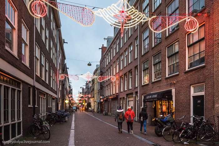 Амстердам без фонарей и кофешопов