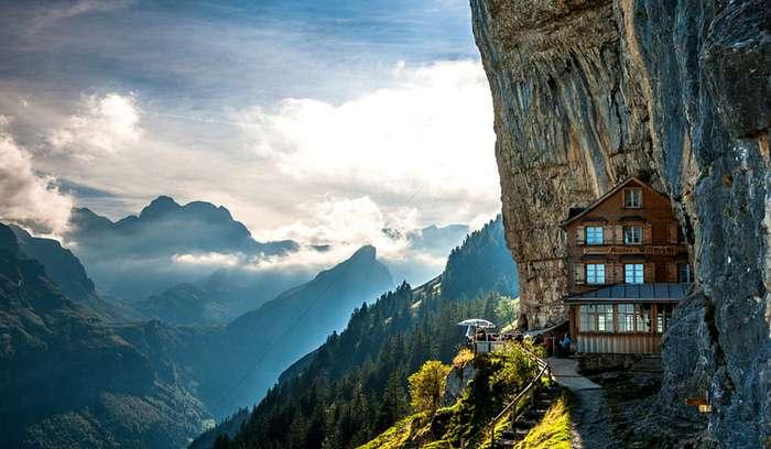 Потрясающие дома, построенные природой