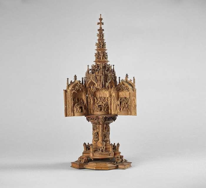 Самшитовые резные миниатюры эпохи Средневековья поражают современных исследователей тонкой работой