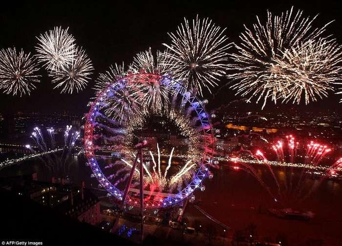Как британцы отметили Новый Год