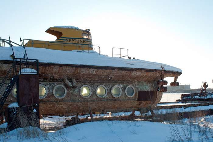Первая советская туристическая подводная лодка