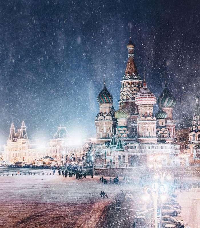 Самый красивый в мире город - зимой