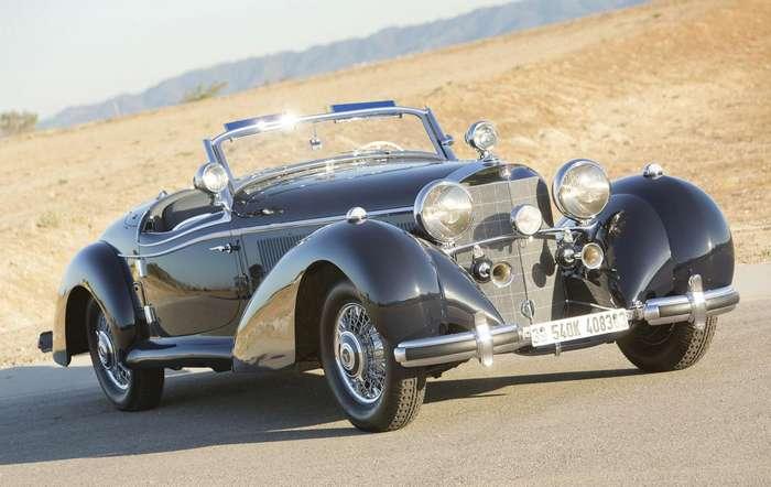 Трофейный немецкий Mercedes-Benz уйдет за миллионы