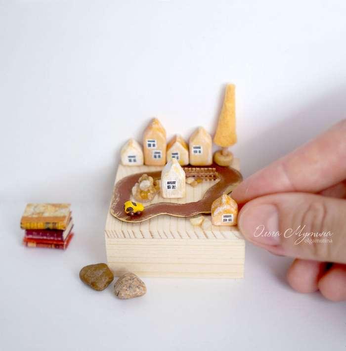 Художница создает волшебный мир сказки в миниатюре