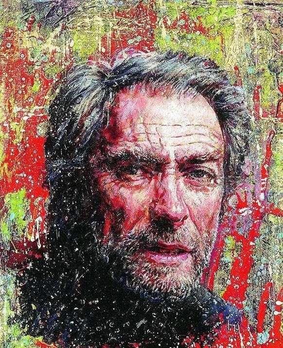 Портреты знаменитостей от художника Никаса Сафронова