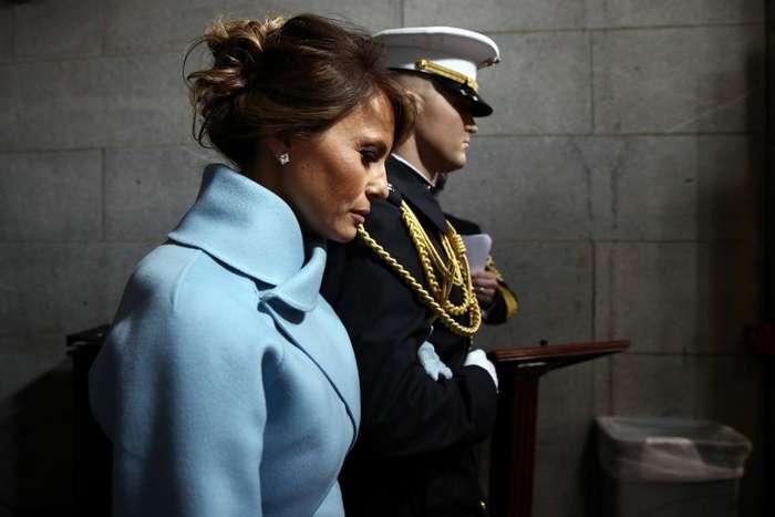 Женщина, с которой мир не сводит глаз: первая леди США Меланья Трамп после инаугурации