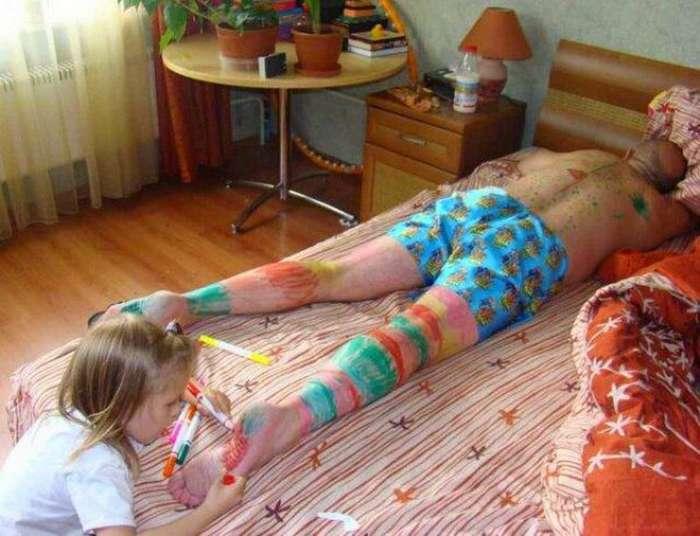 28 родителей, у которых день точно хуже вашего