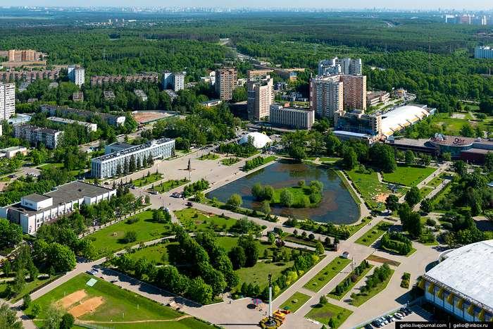 Одинцовский район в Московской области