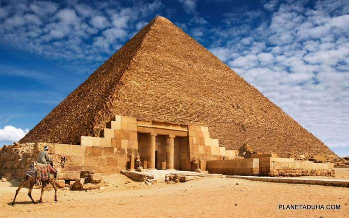 Как строили пирамиды Гизы.
