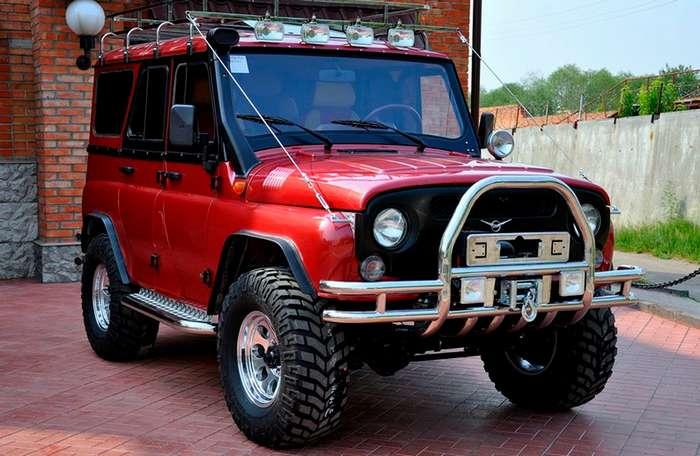 Тюнинг авто уаз 469