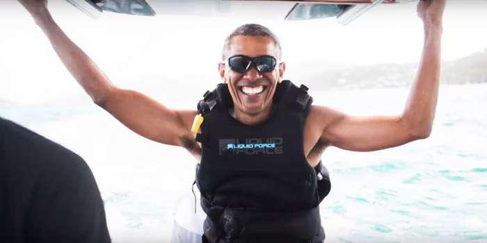Барак Обама отмотал свои сроки и теперь отрывается по полной