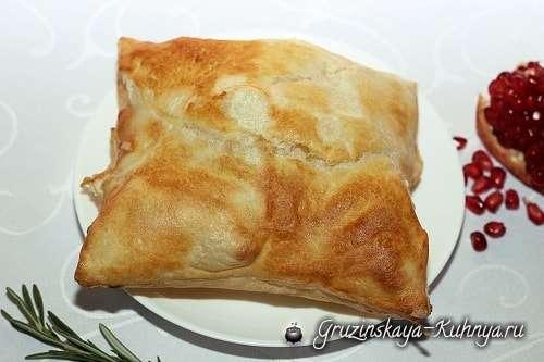 Пеновани — слоеный хачапури — гордость грузинской кухни!