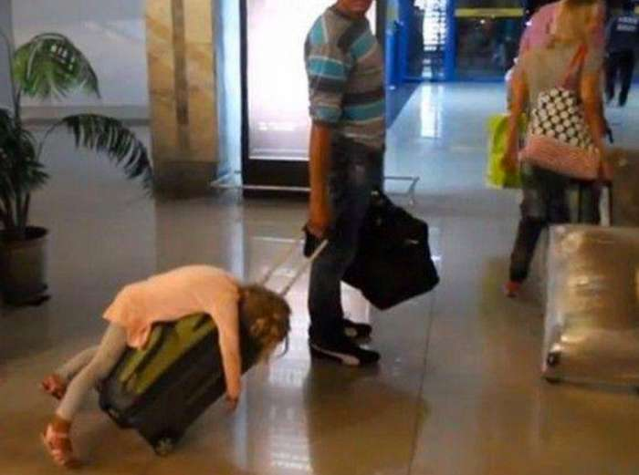 20 путешественников, чей багаж может вас очень удивить