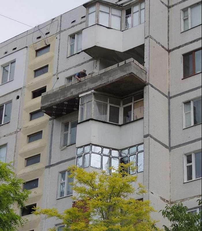 15 эпичных балконов, которые вводят в полный ступор.