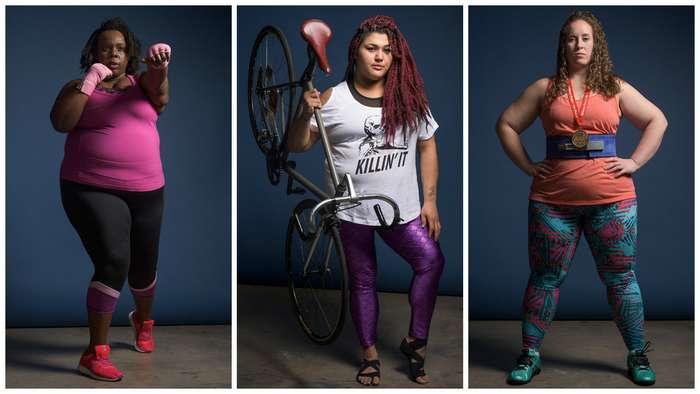"""7 спортсменок """"плюс-сайз"""" рассказывают о своих достижениях"""
