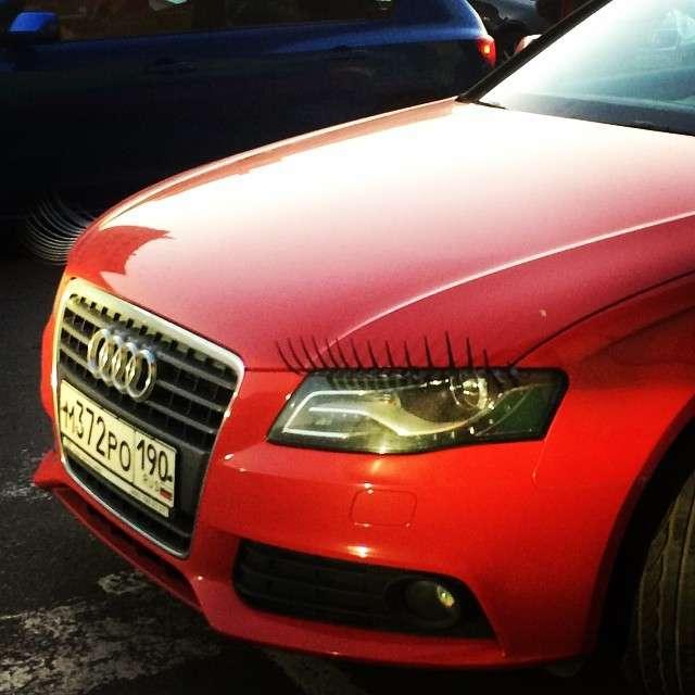 А вы видели, что скрывает женский автомобиль?