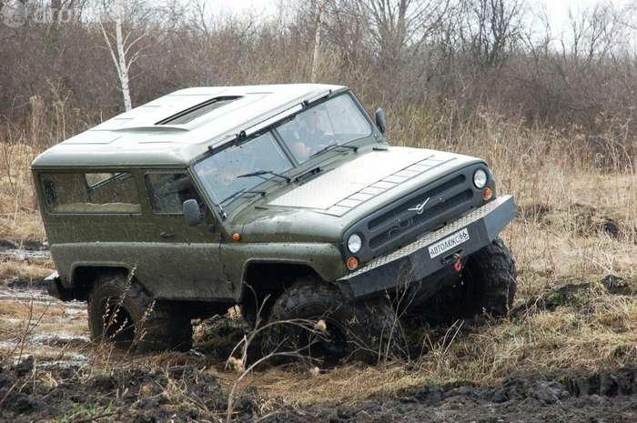 Вездеход из Камышлова похожий на УАЗ