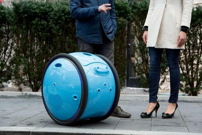 Изобретён робот-помощник, который умеет носить хозяйские вещи