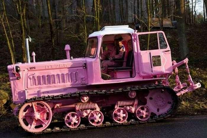 Пять элитных тракторов