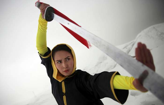 Женский Шаолинь в Афганистане