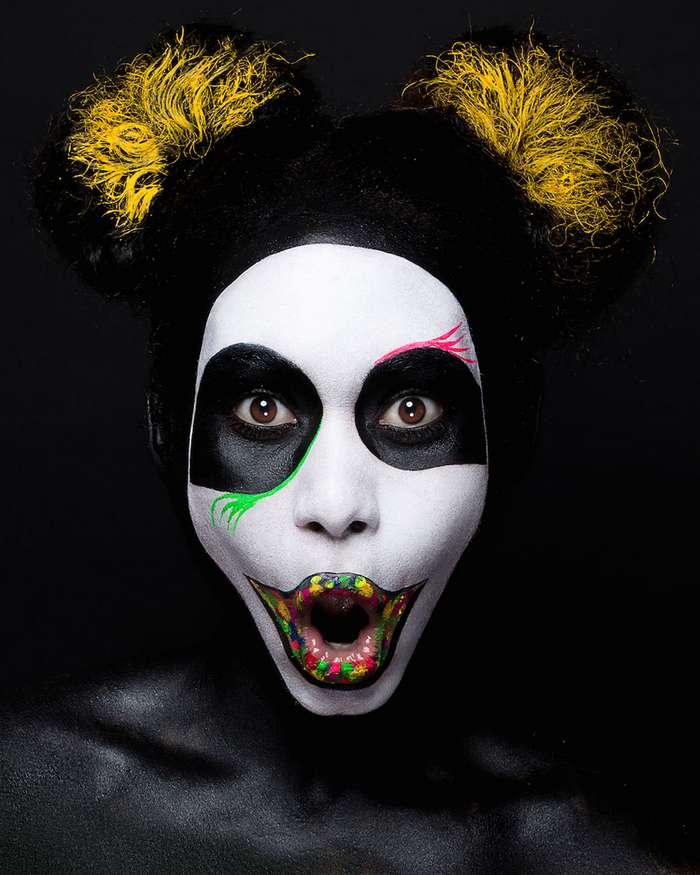 Красочный макияж – шедевры, вдохновленные японским поп-артом