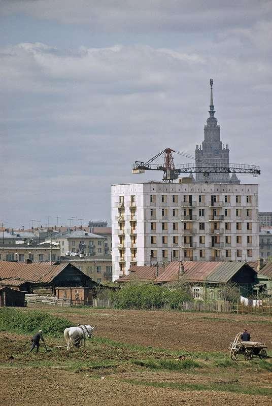 Москва 1964 года на снимках Дина Конгера.