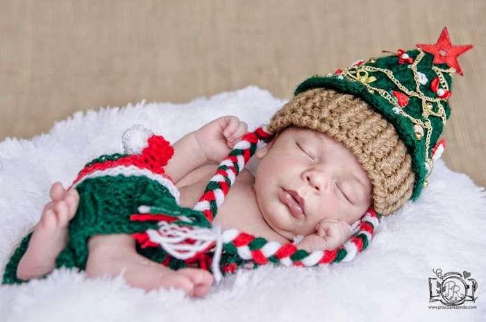 70+ малышей, которые готовы встретить свое первое Рождество