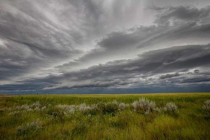 Бури и ураганы на снимках Райана Вунша