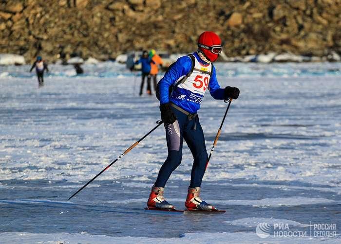 Байкал: гонки на льду!